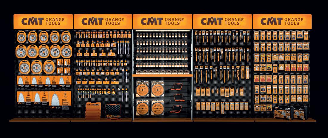 Prodejní boxy značky CMT